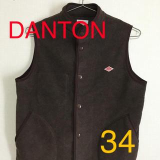 ダントン(DANTON)のDANTON フリースベスト 34(ベスト/ジレ)