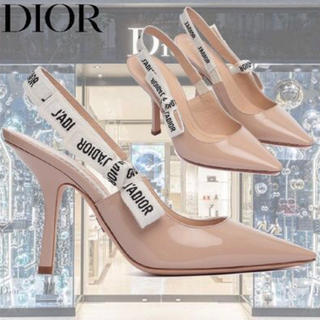 ディオール(Dior)の❤︎新品❤︎完売レアモデル❤︎ DIOR ❤︎ J'ADIOR エナメルパンプス(ハイヒール/パンプス)