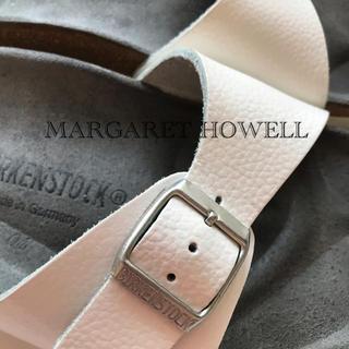 マーガレットハウエル(MARGARET HOWELL)のMARGARET HOWELL×BIRKENSTOCK Madrid(サンダル)