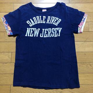 デニムダンガリー(DENIM DUNGAREE)のデニム&ダンガリー 重ね着風 半袖Tシャツ 160(Tシャツ(半袖/袖なし))
