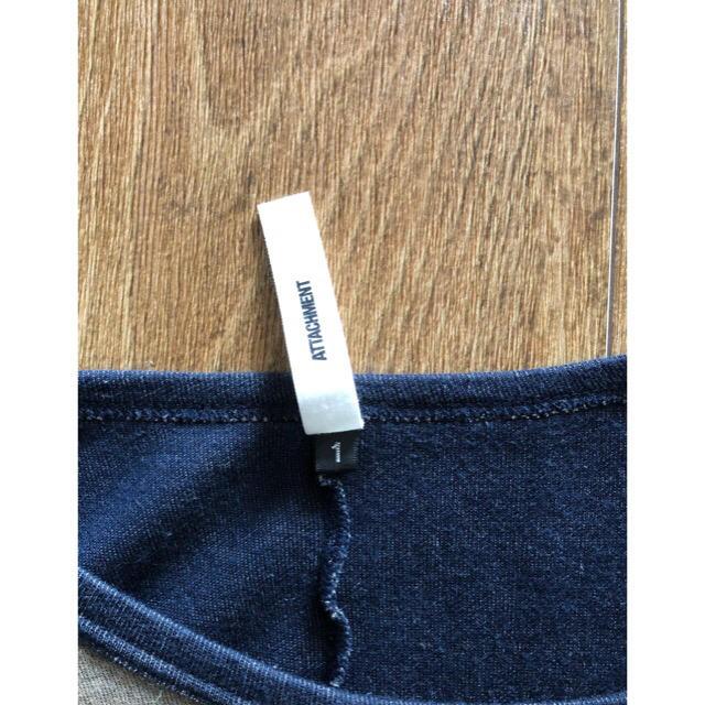 ATTACHIMENT(アタッチメント)のアタッチメントカシミヤ混カットソーAKMwjkユリウスJULIUSsophnet メンズのトップス(Tシャツ/カットソー(七分/長袖))の商品写真