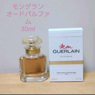 ゲラン(GUERLAIN)のモンゲラン オーデパルファン 香水 箱付き(香水(女性用))