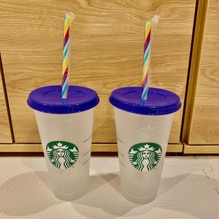 スターバックスコーヒー(Starbucks Coffee)のスターバックス コンフェティー カラーチェンジング(タンブラー)