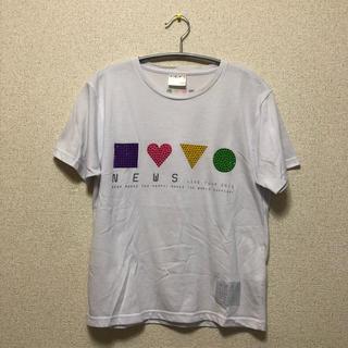 ニュース(NEWS)の最終処分価格!NEWS LIVE TOUR 2013 10th Tシャツ(男性アイドル)