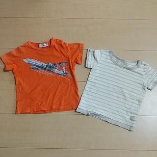 コンビミニ(Combi mini)のCombi mini 飛行機Tシャツ&オーガニック素材Tシャツ(Tシャツ)