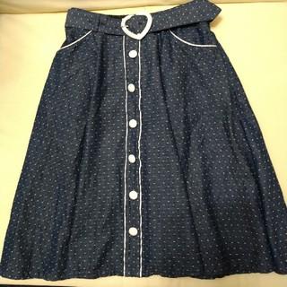 アマベル(Amavel)のアマベルのスカートとSHOPバック(ひざ丈スカート)