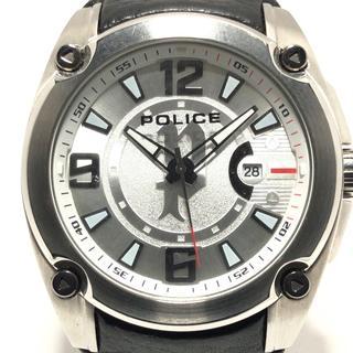 ポリス(POLICE)のポリス 腕時計 - 13891J メンズ シルバー(その他)