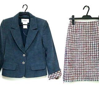 ルネ(René)のルネ スカートスーツ サイズ36 S ツイード(スーツ)