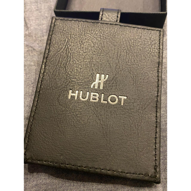 HUBLOT(ウブロ)のHUBLOT ウブロ ゴルフティー&マーカーセット レザーケース付き スポーツ/アウトドアのゴルフ(その他)の商品写真