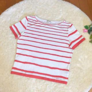 エルメス(Hermes)のHERMES エルメス ボーダー Tシャツ(Tシャツ(半袖/袖なし))