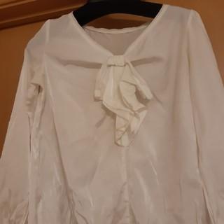 プーラフリーム(pour la frime)のプーラフリーム 白いシャツ(シャツ/ブラウス(長袖/七分))