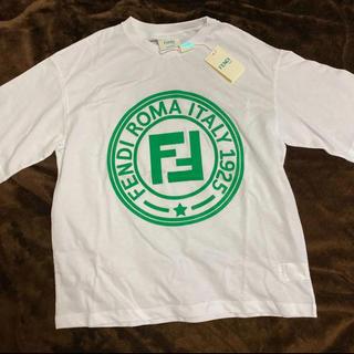 フェンディ(FENDI)の新品タグ付き♡FENDI♡kids♡ロゴTシャツ(Tシャツ/カットソー)