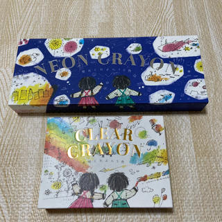 コクヨ(コクヨ)のKOKUYO クリアクレヨン&ネオンクレヨン セット(クレヨン/パステル)