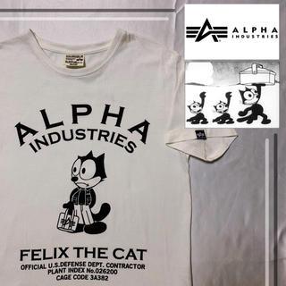 アルファ(alpha)のレア品  ALPHA × FELIX コラボ   tシャツ(Tシャツ/カットソー(半袖/袖なし))