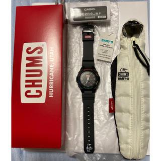 ベビージー(Baby-G)のくるみん様Baby-G CHUMS BGA-260CH-1AJR タグ付属品完備(腕時計(アナログ))