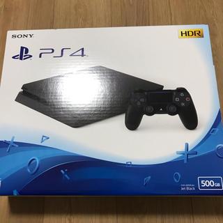 プレイステーション4(PlayStation4)の【新品】ソニー プレステ4 本体 500GB プレイステーション4 (家庭用ゲーム機本体)