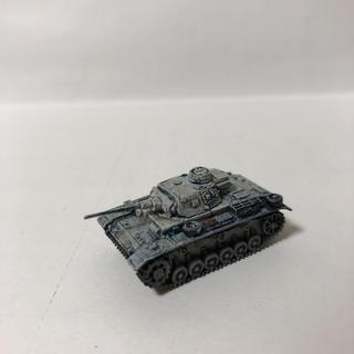 カイヨウドウ(海洋堂)の3号戦車J型 1/144 冬季迷彩 ワールドタンクミュージアム7(模型/プラモデル)