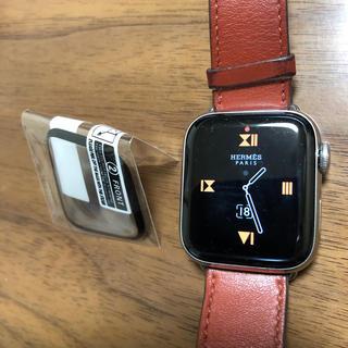 アップルウォッチ(Apple Watch)のApple Watch4液晶保護フィルム(保護フィルム)