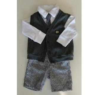 ニッセン(ニッセン)の【値下】子供服 フォーマルベストスーツ 3点セット 90cm(ドレス/フォーマル)