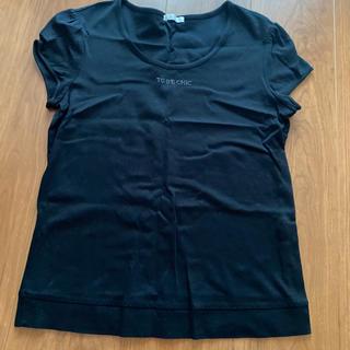 トゥービーシック(TO BE CHIC)のTO BE CHIC tシャツ(カットソー(半袖/袖なし))
