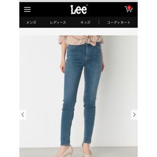 リー(Lee)のLee  リー STANDARD WARDROBE スキニー 中色ブルー 青(スキニーパンツ)