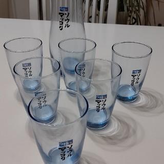 トウヨウササキガラス(東洋佐々木ガラス)のソウルマッコリグラスデカンタセット (グラス/カップ)