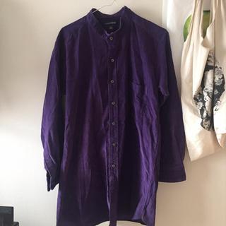 used  ノーカラーコーデュロイシャツ(シャツ/ブラウス(長袖/七分))
