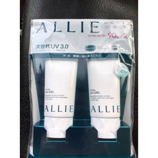 アリィー(ALLIE)のアリー日焼け止めジェル 90g2個セット(日焼け止め/サンオイル)