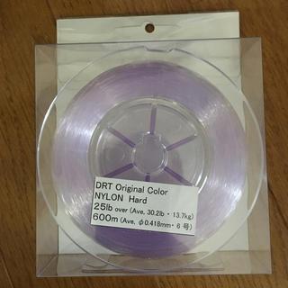 新品未使用 DRT ナイロン パープル 25lb (釣り糸/ライン)