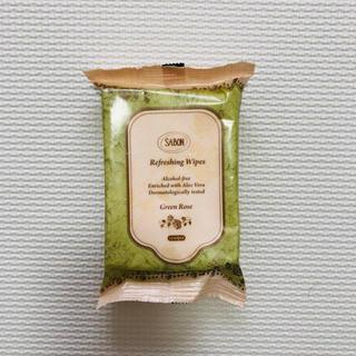 サボン(SABON)のSABON サボン ワイプス リフレッシング グリーン・ローズ(化粧水/ローション)
