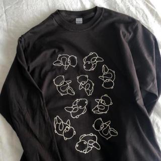 ビームス(BEAMS)のナガキパーマ てくてくのくま ロンティー 新品(Tシャツ(長袖/七分))
