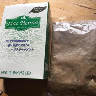 マック(MAC)のマック ヘナハーバルヘアートリートメント ナチュラルブラウン(100g)(白髪染め)