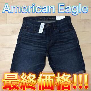 アメリカンイーグル(American Eagle)のAmerican Eagle Men's デニムハーフパンツ 28(ショートパンツ)