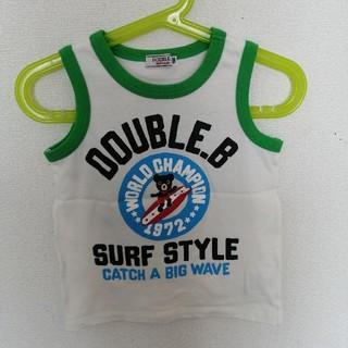 ダブルビー(DOUBLE.B)のダブルB タンクトップ 100(その他)