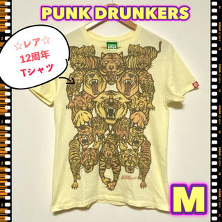 パンクドランカーズ(PUNK DRUNKERS)の【レア!/M】PUNK DRUNKERS パンクドランカーズ 12周年 Tシャツ(Tシャツ/カットソー(半袖/袖なし))
