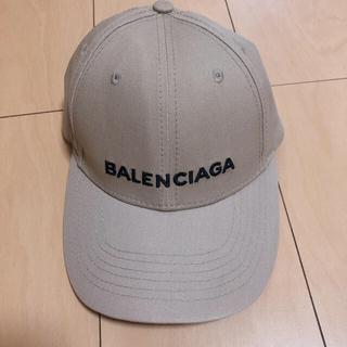 バレンシアガ(Balenciaga)のバレンシアガキャップ ベージュ(キャップ)
