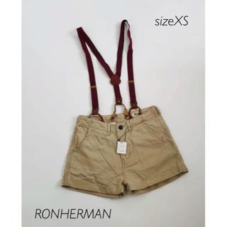 ロンハーマン(Ron Herman)のRONHERMAN  ショートパンツ XS サロペット ロンハーマン ボトムス(サロペット/オーバーオール)