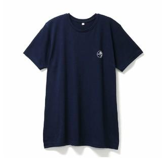 タウンアンドカントリー(Town & Country)の【新品・未使用】T&C クルーネックTシャツ 半袖 ネイビー L(Tシャツ/カットソー(半袖/袖なし))