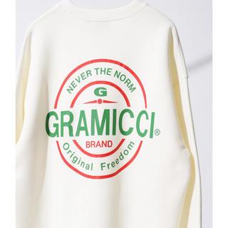 グラミチ(GRAMICCI)の完売!サイズ1 GRAMICCI×FREAK'S STOREスウェットトレーナー(スウェット)