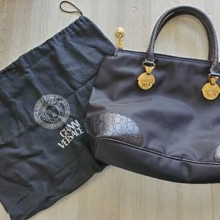 ジャンニヴェルサーチ(Gianni Versace)の【売約済み】GIANNI VERSACE ハンドバッグ B5サイズ ◎袋付き◎(ハンドバッグ)