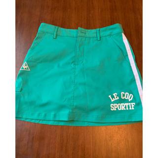 ルコックスポルティフ(le coq sportif)のルコックゴルフスカート サイズ9号 専用です‼️(ひざ丈スカート)