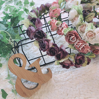 プティマイン(petit main)の花冠 フラワーティアラ ヘッドドレス(その他)