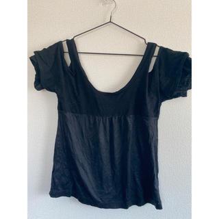 ズッカ(ZUCCa)のズッカ(zucca)変形Tシャツ タンクトップ(Tシャツ(半袖/袖なし))