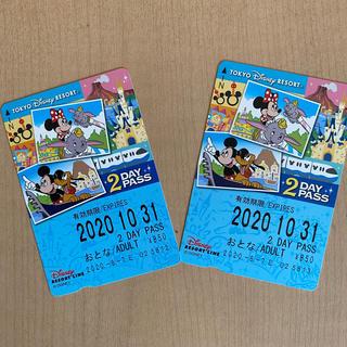 ディズニー(Disney)のディズニーリゾートライン 2dayパス(その他)