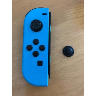 ニンテンドースイッチ(Nintendo Switch)の【ジャンク品】ジョイコン 左 ネオンブルー(家庭用ゲーム機本体)