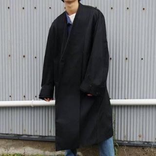 マルタンマルジェラ(Maison Martin Margiela)の16AW ESSAY Oversized Collarless Coat(チェスターコート)