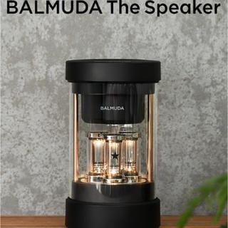 バルミューダ(BALMUDA)のBALMUDA The Speaker ザ・スピーカー ブラック M01A-BK(スピーカー)