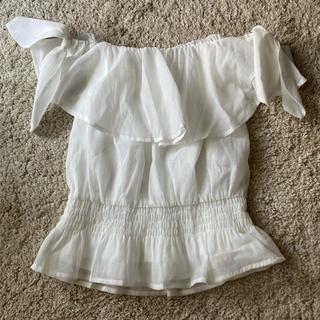 レディアゼル(REDYAZEL)のレディアゼル ホワイトオフショル(シャツ/ブラウス(半袖/袖なし))