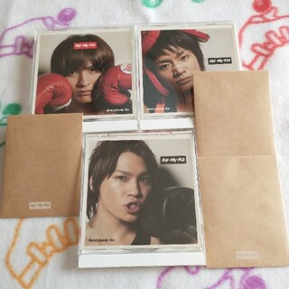 キスマイフットツー(Kis-My-Ft2)のTai  chanさま専用キスマイCDセット(ポップス/ロック(邦楽))