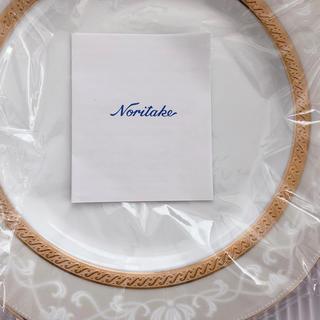 ノリタケ(Noritake)のノリタケ ハンプシャーゴールド 23cmアクセント皿ペアセット (食器)